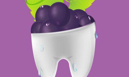 Druiven:  Opgepast voor de tanden