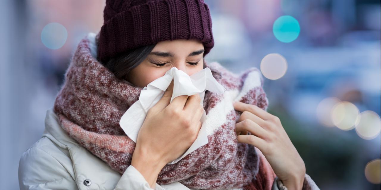Kan je van kou verkoudheid krijgen?