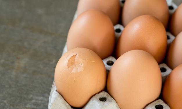 Geblutste eieren toch nog koken