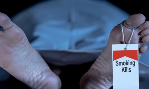 Veel rokers krijgen een ellendig levenseinde